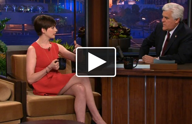 Anne Hathaway talks about her bad night with Leno – Post By Dave