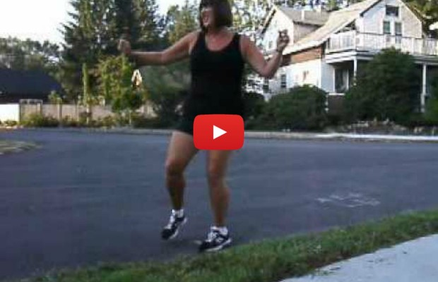 VIDEO: Mom's happy dance for back to school