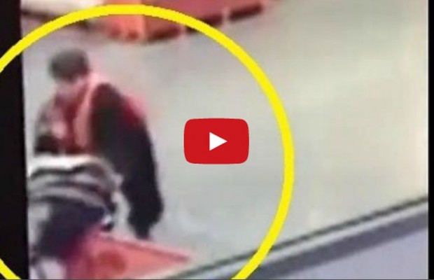 VIDEO: Home Depot employee catches baby