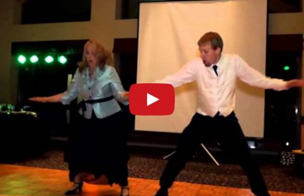 VIDEO: Mother Son Wedding Dance