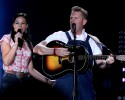 Joey and Rory with Zac Brown Band 2010 CMA Music Festival Nightly Concerts at LP Field - Day 3 Nashville, Tennessee - 12.06.10  Featuring: Joey and Rory with Zac Brown Band Where: United States When: 12 Jun 2010 Credit: WENN